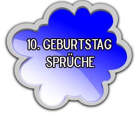 Glückwünsche zum 10. Geburtstag