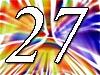 Glückwünsche zum 27. Geburtstag