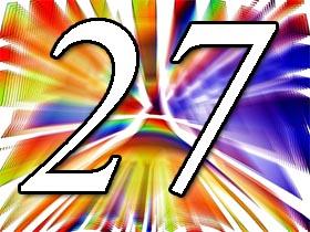 27. Geburtstag