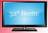 32 Zoll Fernseher Maße