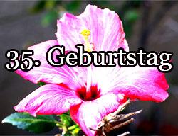 35. Geburtstag Spr�che