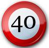 Geburtstagssprüche zum 40. Geburtstag