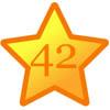 Glückwünsche zum 42. Geburtstag