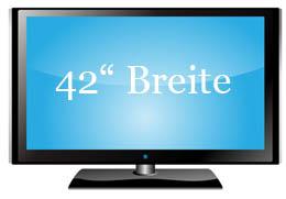 Breite 32 Zoll Fernseher