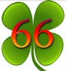Glückwünsche zum 66igsten