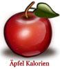 Kalorien von einem Apfel