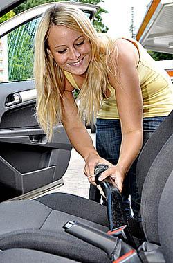 Auto Innenraumreinigung