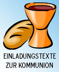 Texte Einladungskarten Kommunion