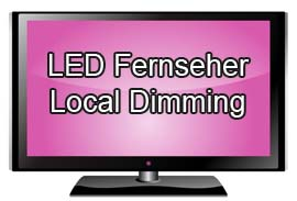 LED Fernseher mit Local Dimming