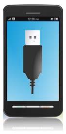 Smartphones mit USB