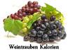 Kalorien von Weintrauben