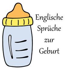 Gluckwunsche zum baby in englisch